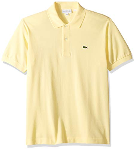 Lacoste Men's Classic Short Sleeve L.12.12 Pique Polo Shirt,Napolitan Yellow,XXX-Large (Polo Shirt Lacoste)