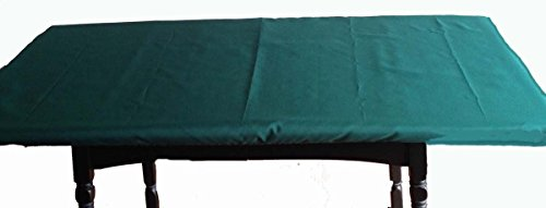 Playezze Felt Poker Tablecloth - Rectangle or Square Card Tables - Custom Made with Dwst Bloc (green, 70' 50 rectangle ()