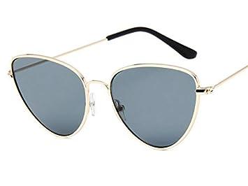 YXCCHZS Gafas De Sol Moda Gafas De Sol con Forma De Ojo De ...