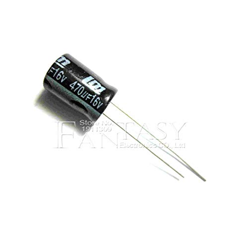 20PCS HIGT Quality 16V470UF 8x12mm 470UF 16V 8x12Electrolytic Capacitor
