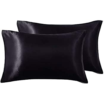 Amazon Com Lanest Housing Silk Satin Pillowcase For Hair
