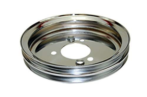 Pirate Mfg BBC Chevy 396-454 Chrome Steel SWP Double Groove Crankshaft ()
