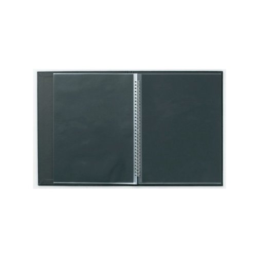 (Prat Spiral Modebook 149, Hard Cover with 12 Sheet Protectors, Landscape 14 X 11 inches, Black (149I-14X11))