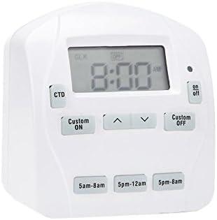 PRIME EZ Set 15-Amp 1-Outlet Digital Residential Plug-in Countdown Lighting Timer