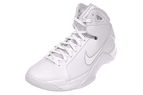 Nike Mens Hyperdunk 08 Basketskor Vit / Vit - Ren Platina
