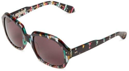 Derek Lam Women's Aria Oversized Sunglasses,M102 Frame/Grey Lens,one - Lam Sunglasses