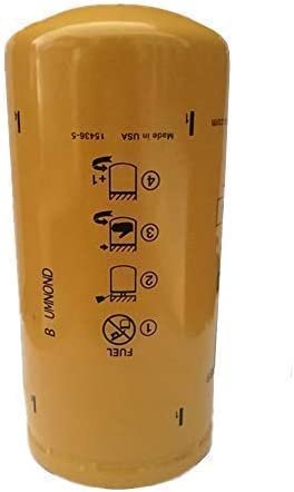 MADE IN USA CATERPILLAR OEM 1R0750 4 Pack NEW CAT FUEL FILTERS 1R-0750