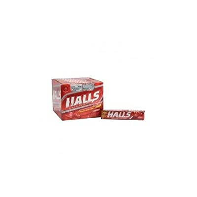HALLS C & D CHERRY 20 COUNT - Buy Packs and Save (Pack of 3)