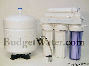 5 STAGE 50GPD Residential REVERSE OSMOSIS SYSTEM - RO WATER FILTER 50 GPD