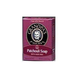 Grandpa - Patchouli Bar Soap, 3.25 Ounce - 6 Per Case (Bath Bar Ounce 3.25)