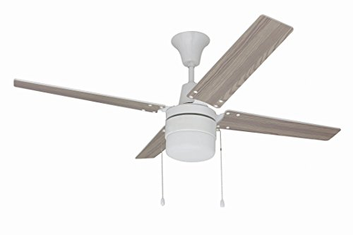 Litex E-UBW48WW4C1 Wakefield Collection 48-Inch Ceiling Fan