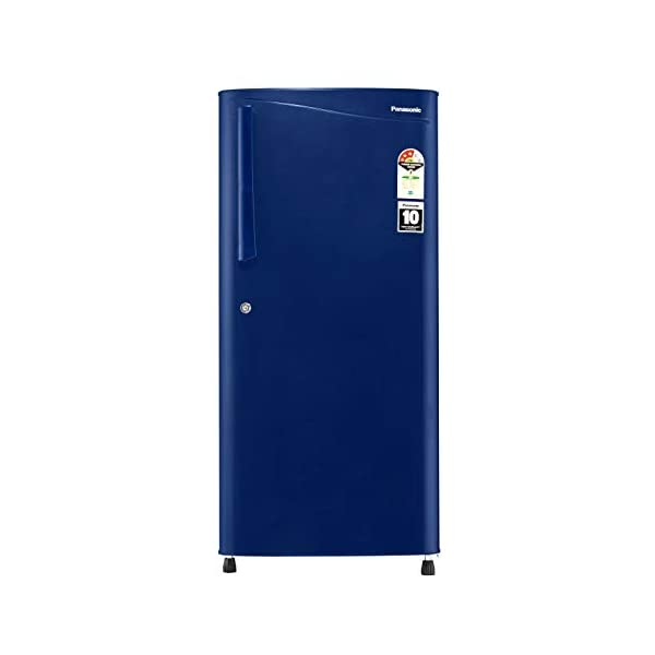 Panasonic 194 L 3 Star Inverter Direct-Cool Single Door Refrigerator (NR-A193VAX1, Blue Hairline) 2021 July Direct Cool Refrigerator: Economical and Requires Manual Defrosting Capacity 194 L– Suitable for families with 2 to 3 members Manufacturer Warranty: 1 Year on Product; 10 Years on Compressor