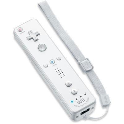 Video Games : Nintendo Wii Remote Plus - White