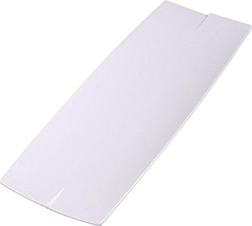 Carlisle 3332402 Rave Melamine Display Rectangular Platter  23 X 7 87 X 0 87   White  Case Of 6