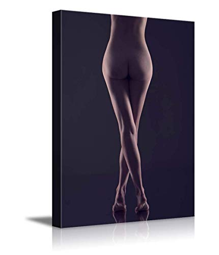 Arts Language Canvas Prints Wall Art - Sexy Nude Model - 20