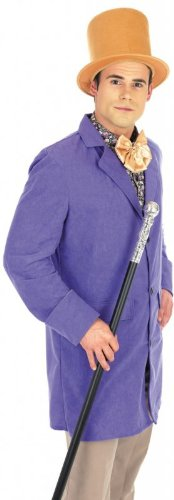 Victorian Willy Wonka Costume (Medium Men's Victorian Factory Owner Costume)