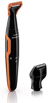 Mini lámina afeitadora Philips NT9145 pelo Trimmer con barba de 3 ...