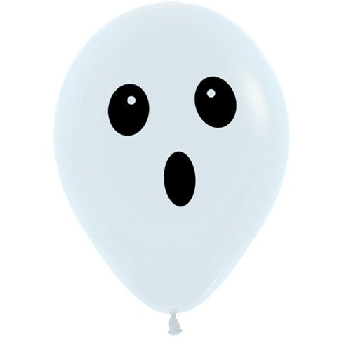 11-inch-ghost-face-latex-balloons