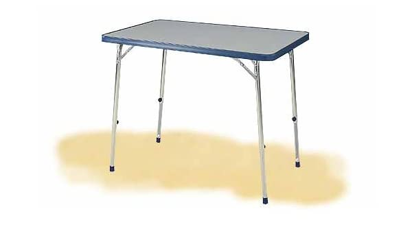 Stabielo de Camper con mesa de aluminio de miniumrahmen 101 x 65 x ...
