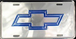 chevy bow tie license plate - 8