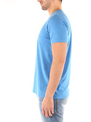 Penn By Wytee0406 Azzurro shirt rich Uomo T Woolrich TwfqTgr