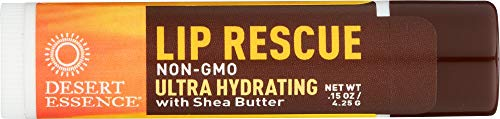 Desert Essence (NOT A CASE) Lip Rescue Ultra Hydrating with Shea Butter
