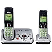 Vtech Cs6329-2 Dect Expandable Two Handset Cordless Phone System with Digital Answering System and Caller Id