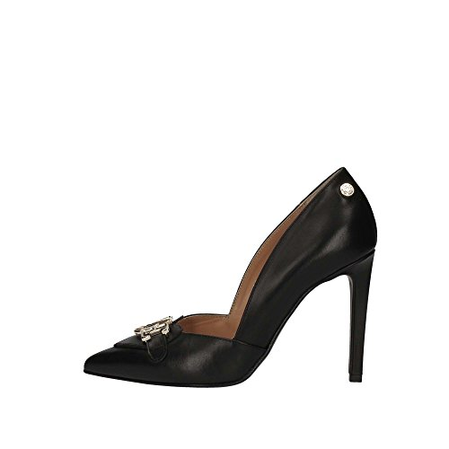 De Ja10117ac05 Tacón Moschino Zapatos Love Negro Mujer nvtOvx