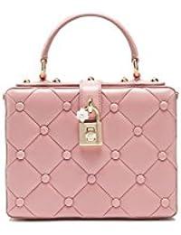 Women's BB5970AI7958H406 Pink Leather Handbag