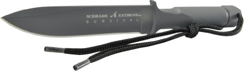 Schrade-SCHF1SM-Small-Extreme-Survival-One-Piece-Drop-Forged-Spear-Point-Fixed-Blade