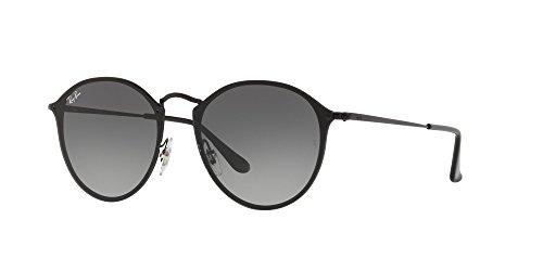 Ray-Ban Metal Unsiex Square Sunglasses, Black, 58 - Ray Ban Parts Glasses
