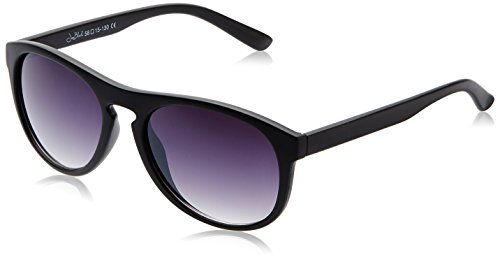 Joe Black Wayfarer Sunglasses (Matte Black) (JB-482|C2|58)