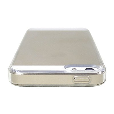 LUVVITT CLEARVIEW Scratch-Resistant Slim Clear Back Case with Bumper / Cover for iPhone 5 / 5S | Retail Packaging) / iPhone 5 Case - Clear