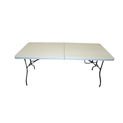 1,8m Utilisation facile pliante Tressle Table
