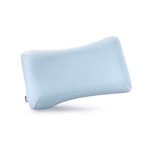 (Aloudy Memory Foam Toddler Pillow, Organic Cotton Cover, Breathable Kids Pillow 20 x 11 x 2(2.5) for 2-10 Years Old Children)