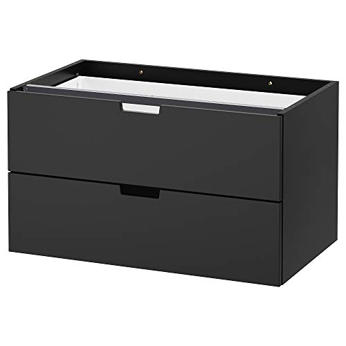 (IKEA.. 203.658.57 Nordli Modular 2-Drawer Chest, Anthracite)
