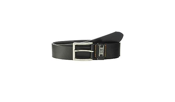 Men Belt Hugo Boss Jackson-N Grained Leather Metal Buckle 50180958 002