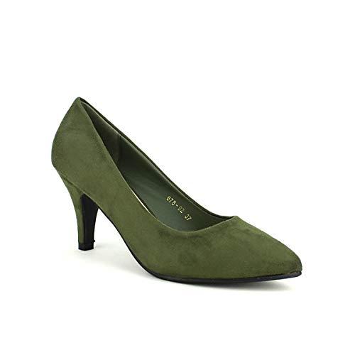 Queen Escarpins Kaki Chaussures Femme Cendriyon Vivi U4gCqwOOn