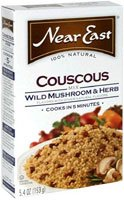 Near East Couscous Mix Wild Mushrooms and Herb -- 5.4 oz - 2 pc (Near Couscous Mushroom East)