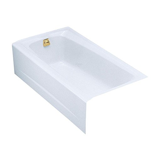 KOHLER K-505-0 Mendota 5-Foot Bath, White ()