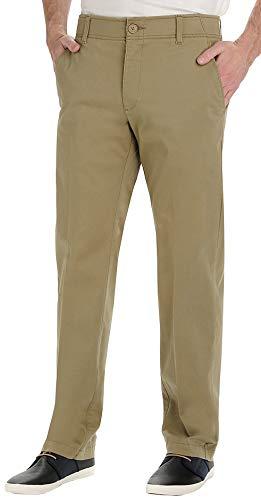 Lee Men's Performance Series Extreme Comfort Khaki Pant, Original Khaki, 34W x 30L