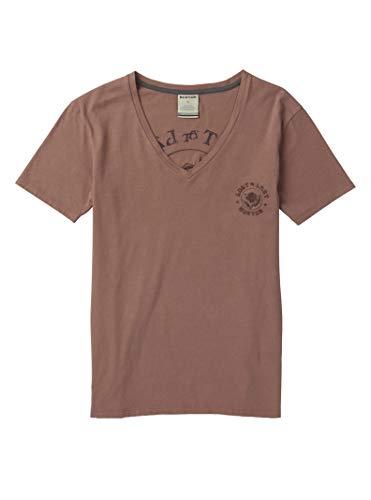 Burton Women's Keeler V-Neck Short Sleeve T-Shirt, Antler, Large