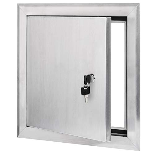 Premier 2400 Series Aluminum Universal Access Door 12 x 12 (Keyed Cylinder Latch) ()