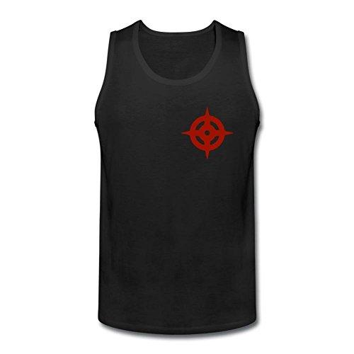 Kittyer Men's Fire Emblem Fates Design Cotton Tank Top L