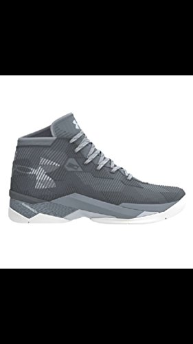 Under Armour Curry 2.5 Men US 11 Gray Basketball Shoe