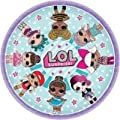 LOL Surprise Birthday Party Supplies Pack For 16 Guests With L.O.L. Surprise Plates, Cups, Napkins, Paper Tablecover, 6 Balloons, Add An Age Birthday Banner, and Exclusive Pin By Another Dream