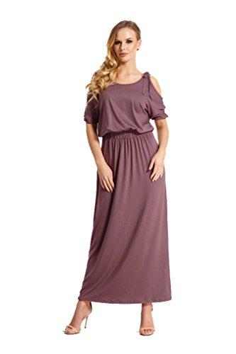 Kleid lang dreiviertelarm