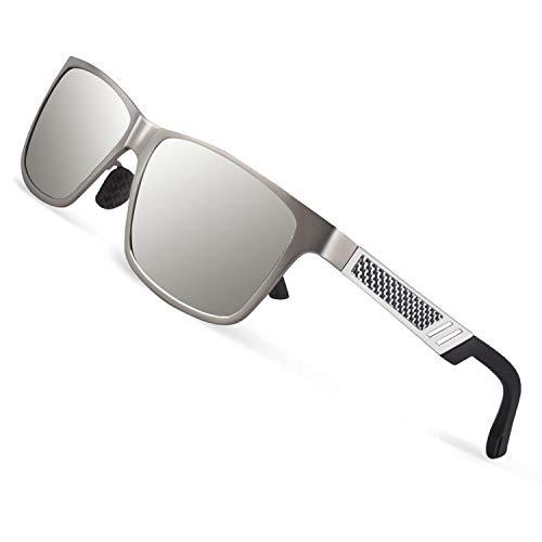 31daaa23470b5a CGID GD60 Classic Al-Mg Alloy Frame Polarized Sunglasses UV400 for ...