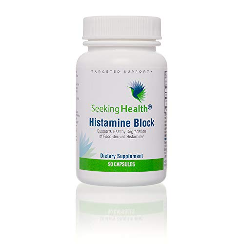 Seeking Health | Histamine Block | DAO Supplement Enzyme | Food Intolerance | Histamine Intolerance | GI Tract Supplements | Dhist Capsules (90 Count)