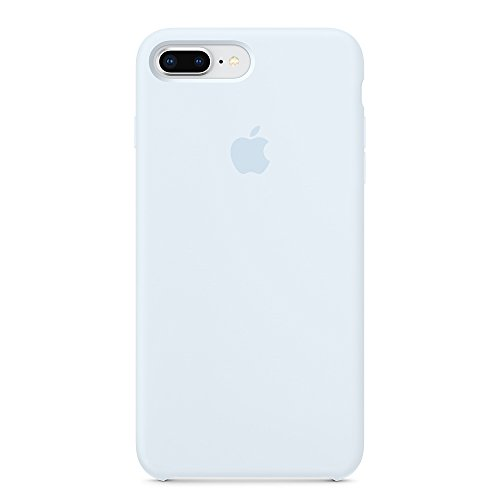 Opshell Soft Silicone Case Cover for Apple iPhone 8 Plus (5.5inch) Boxed- Retail Packaging (SkyBlue)